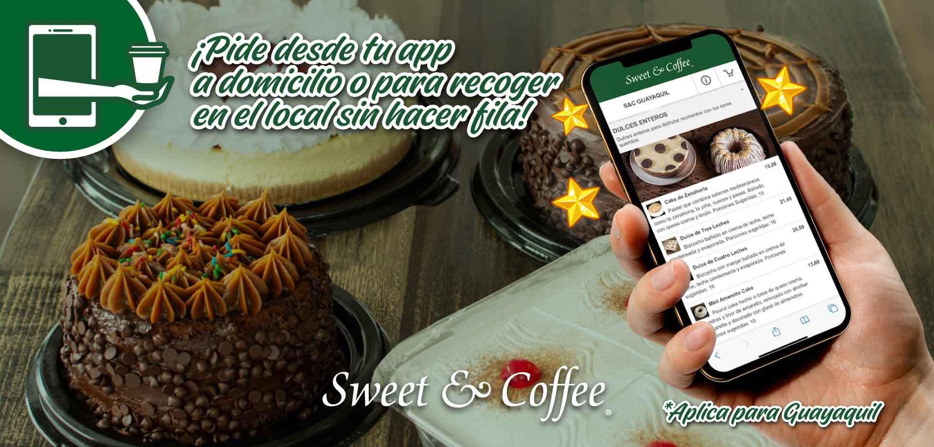 Pedidos en linea SweetCoffee