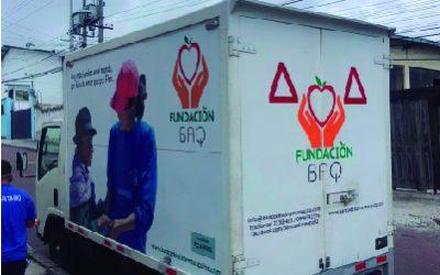 donación productos al banco de alimentos