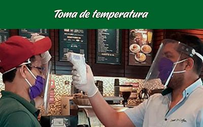 bioseguridad locales sweet&coffee temperatura
