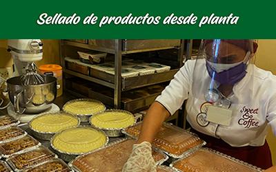bioseguridad locales sweet&coffee sellado producto desde planta