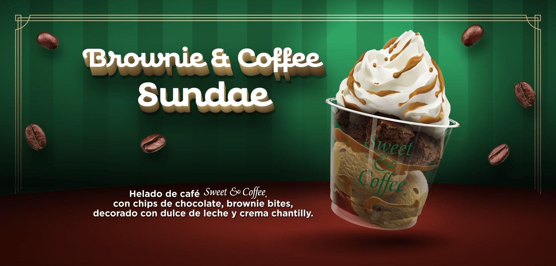 Brownie Coffee Sundae